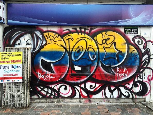 Colombia graffiti