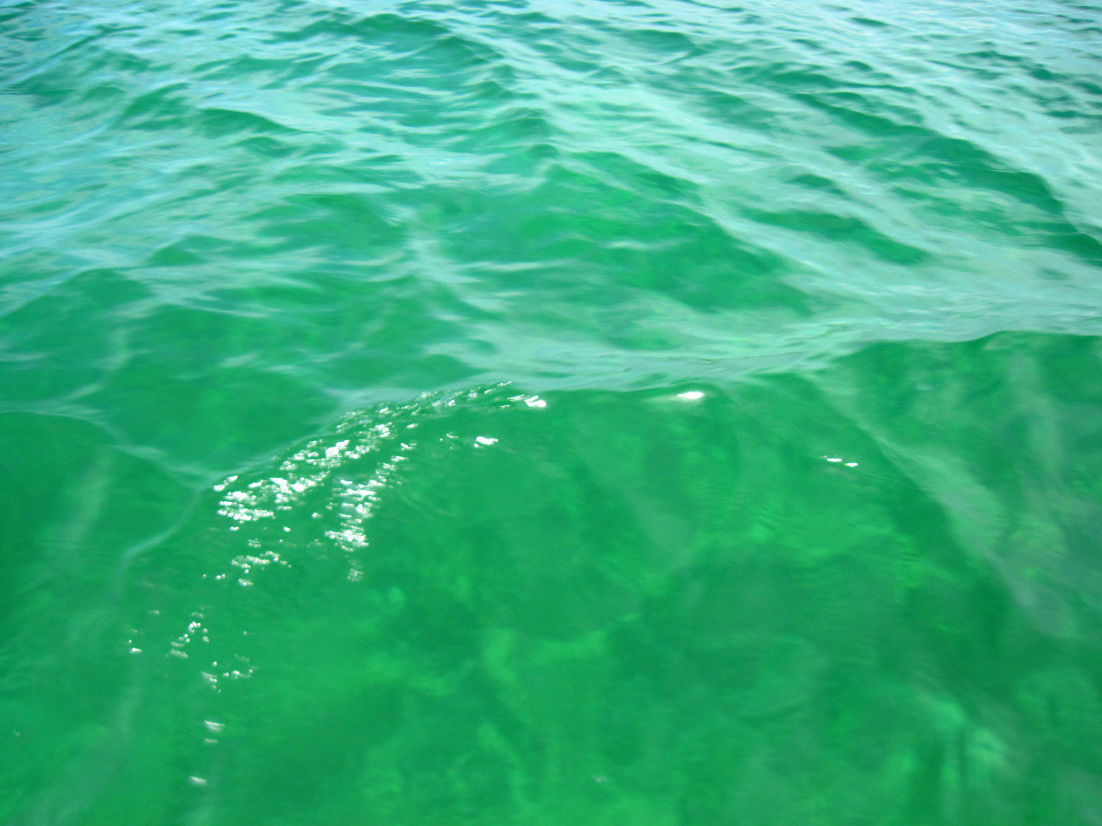 The clear blue waters of the San Bernardo Islands